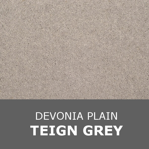 Axminster Devonia Plain - 1304/76000 Teign Grey