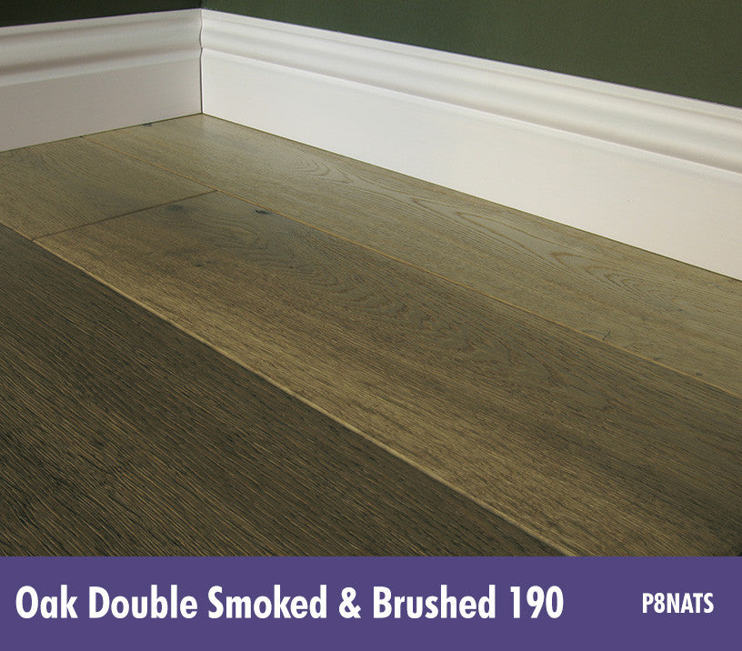 Lignum Strata - Twenty 6 - Premium Multiply Oak Double Smoked & Brushed 190