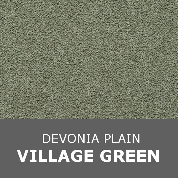 Axminster Devonia Plain - 304/76000 Village Green