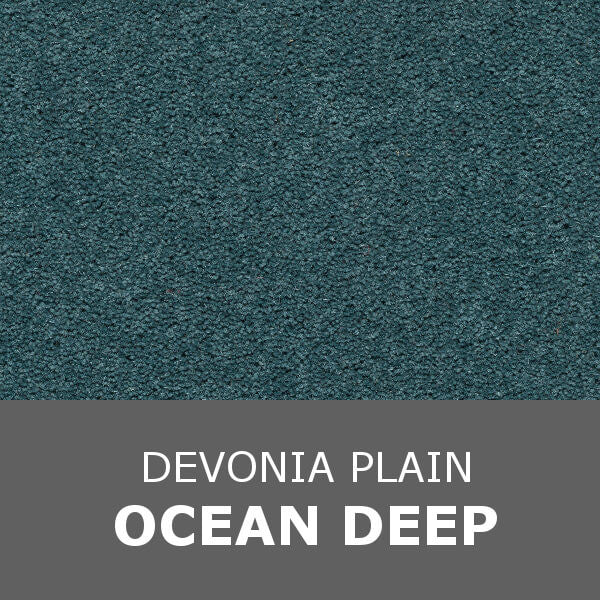Axminster Devonia Plain - 356/76000 Ocean Deep