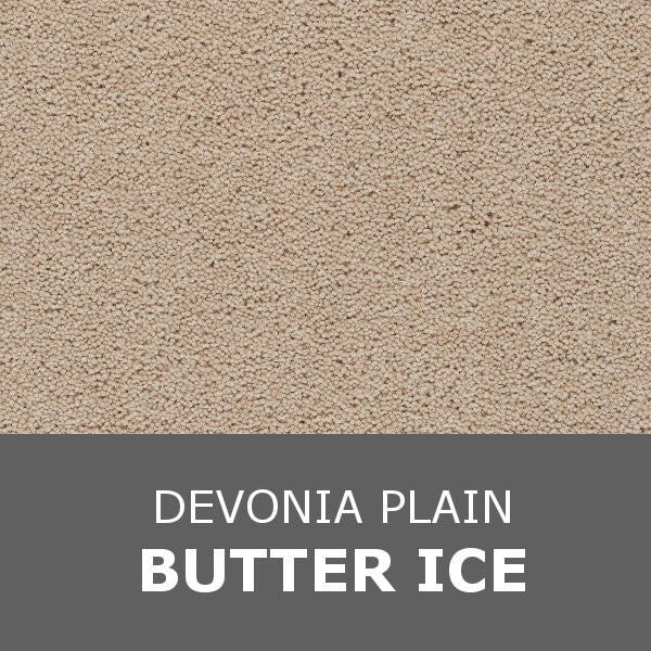 Axminster Devonia Plain - 374/76000 Butter Ice
