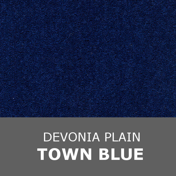 Axminster Devonia Plain - 381/76000 Town Blue