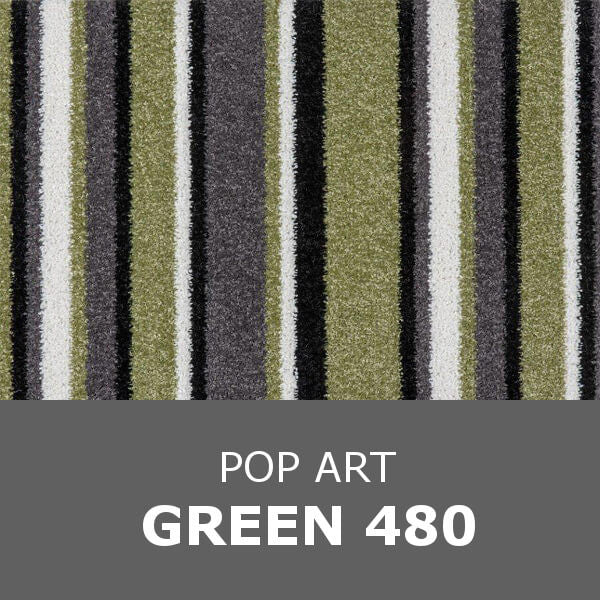 Balta Stainsafe POP ART - Green 480