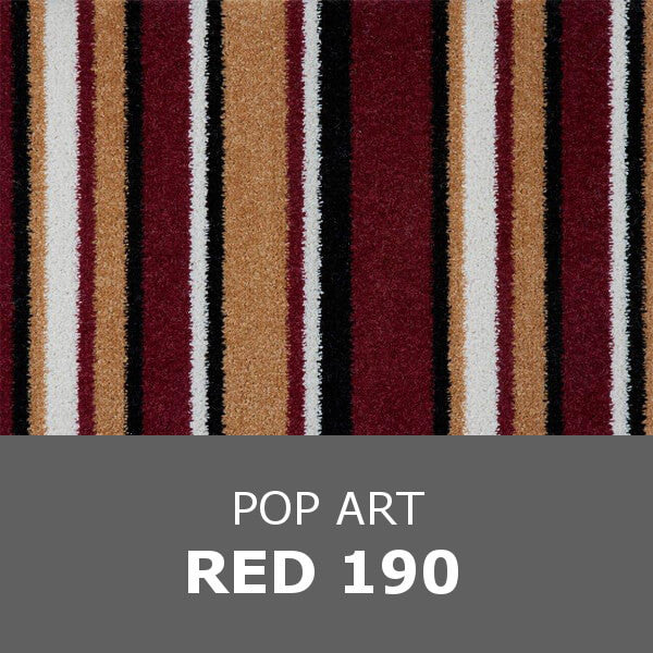 Balta Stainsafe POP ART - Red 190