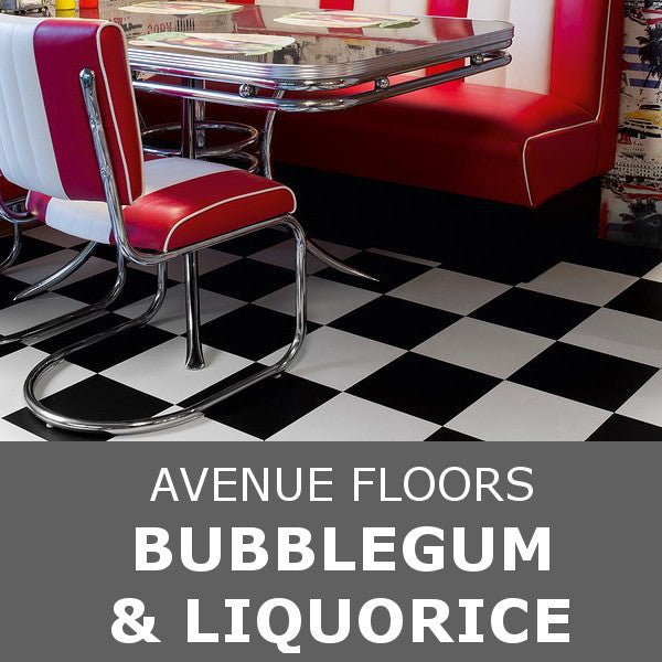 Avenue Floors - Choice Collection - Bubblegum & Liquorice