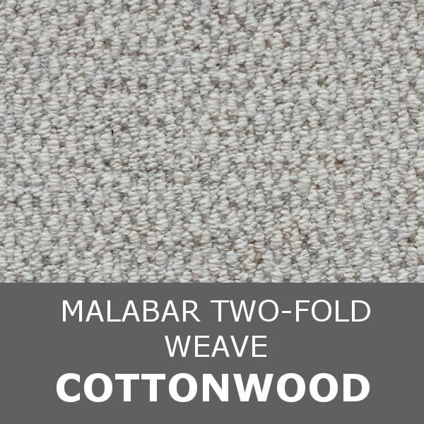 Cormar MALABAR Two-fold - Weave Texture - Cottonwood