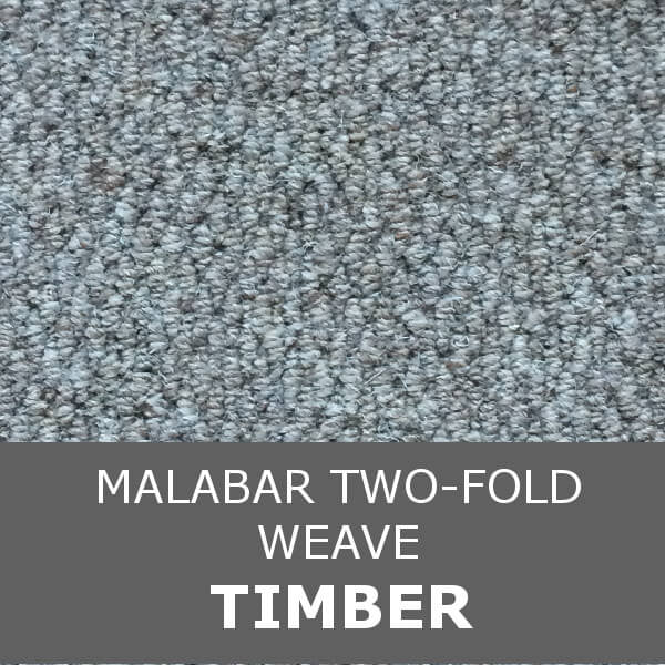 Cormar MALABAR Two-fold - Weave Texture - Timber