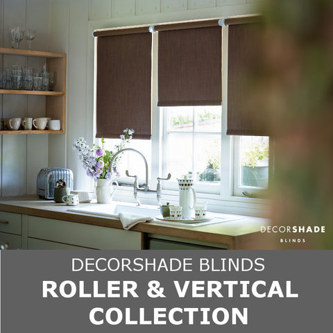 Decorshade Blinds - Roller and Vertical Collection