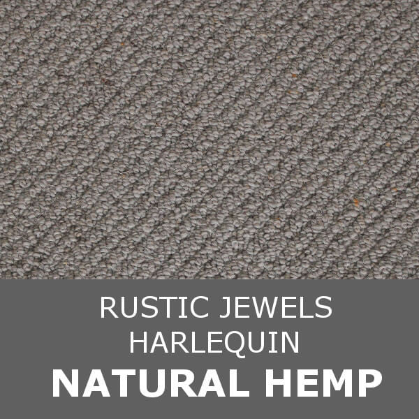 Navan Rustic Jewels - Harlequin - Natural Hemp 42813