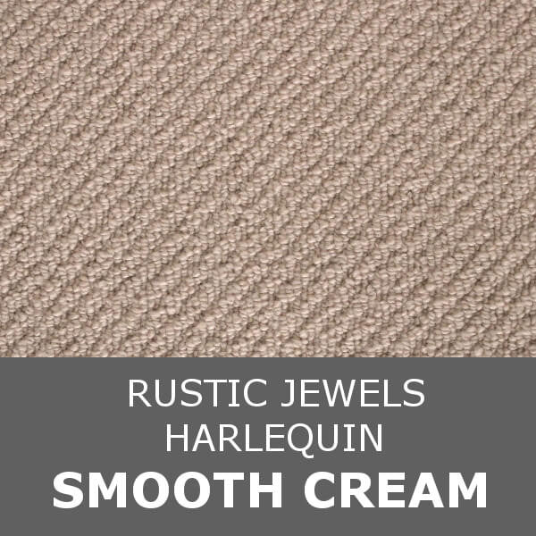 Navan Rustic Jewels - Harlequin - Smooth Cream 42810