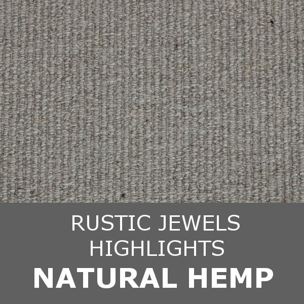 Navan Rustic Jewels - Highlights - Natural Hemp 40813
