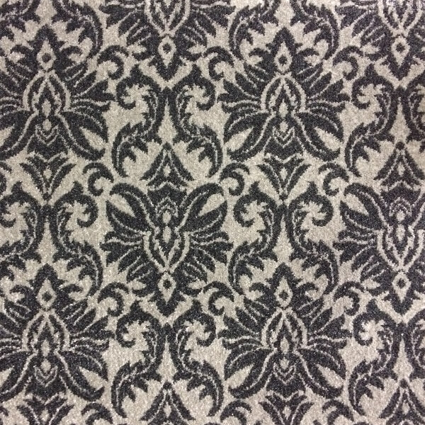 Signature - Contessa Damask - Light Grey & Grey
