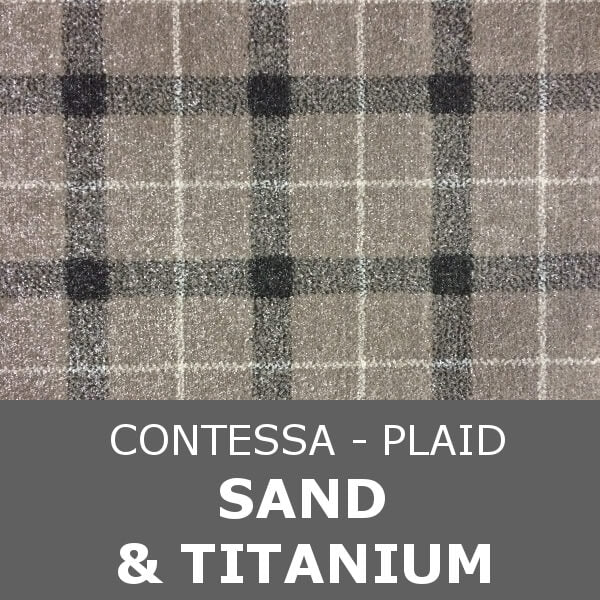 Signature - Contessa Plaid - Sand & Titanium
