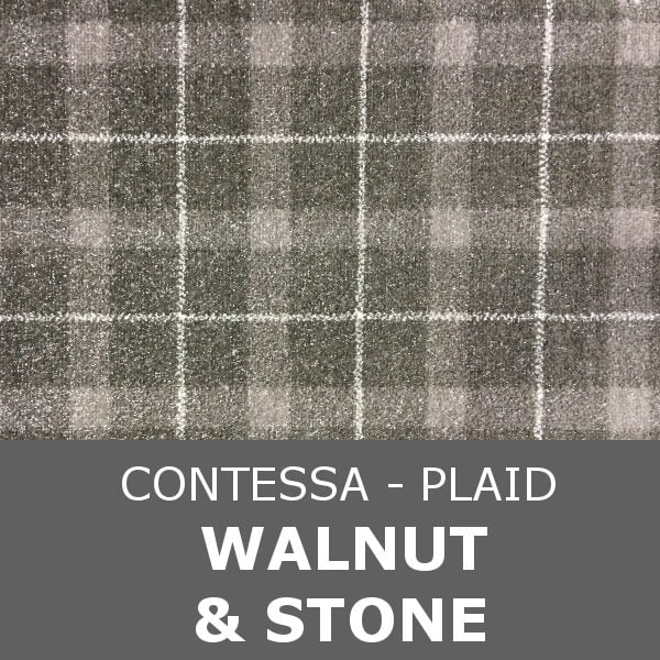 Signature - Contessa Plaid - Walnut & Stone