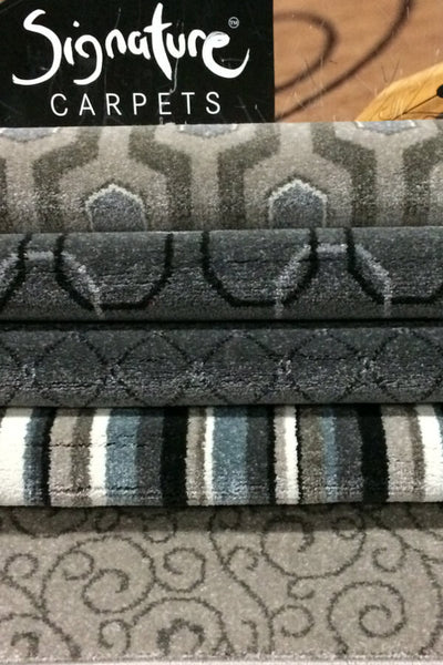Signature - Contessa Plaid - Frost Grey & Platinum