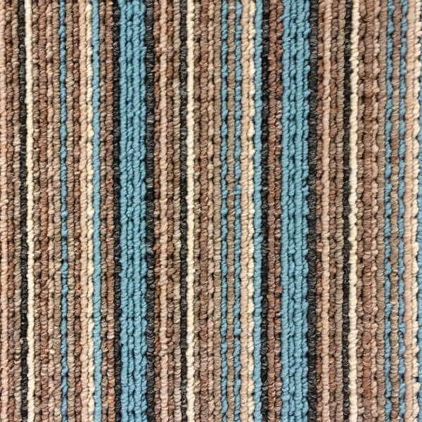 Flanagan StainTec Carnival Stripes - 681 Sky Blue