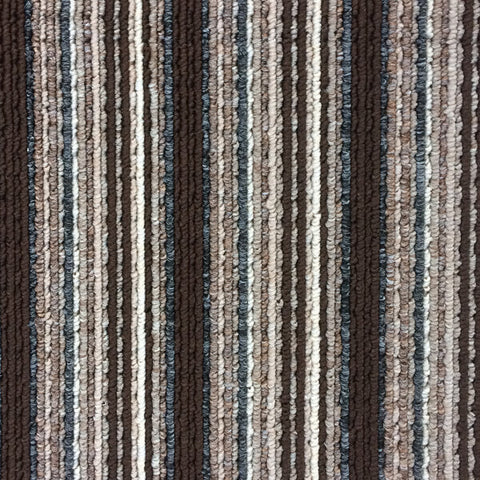 Flanagan StainTec Carnival Stripes - 694 Bark