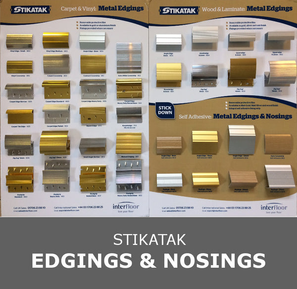 Stikatak Accessories - Edgings & Nosings