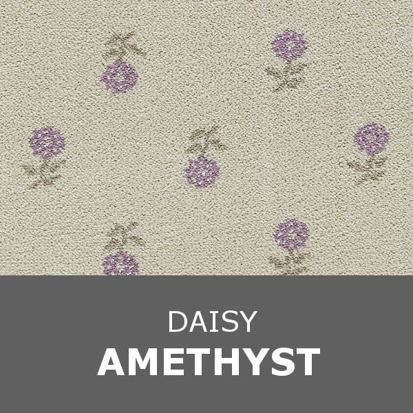 Brintons Laura Ashley Collection - Daisy - Amethyst 9/50082