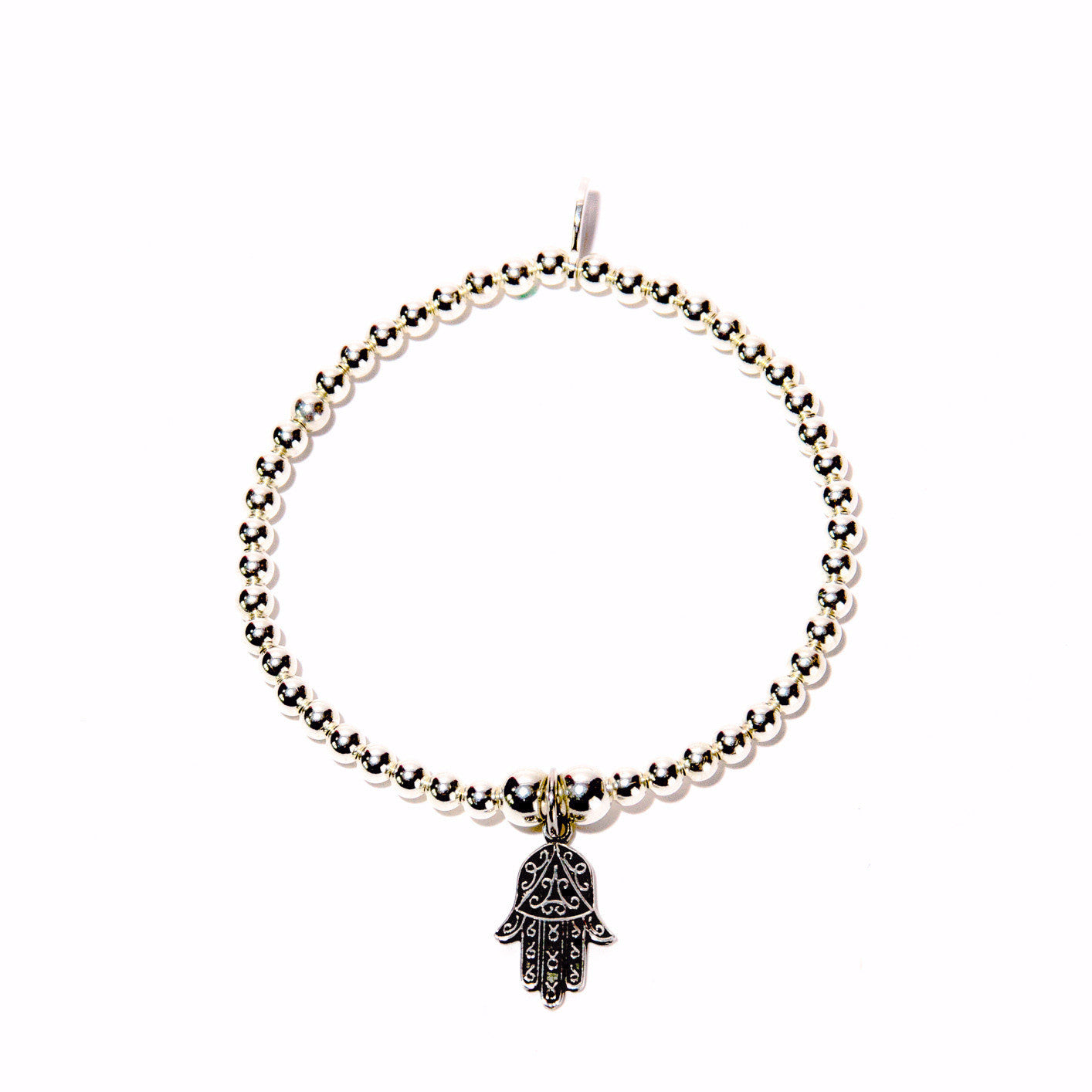 Small Hamsa Hand Beaded Bracelet