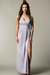Farrah Open Slit Maxi Dress