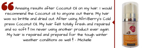 Afri-Berry Coconut Oil Archaic Human