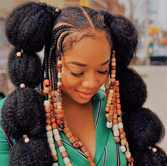 Archaic Human African Hairstyle
