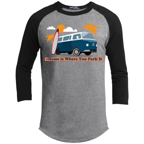 Home is Where You Park It (Surf) - Sporty Tee Shirt