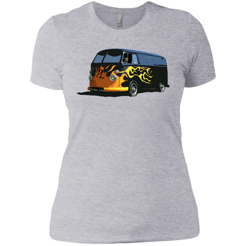 Flaming Hot - Next Level Ladies' Boyfriend Tee
