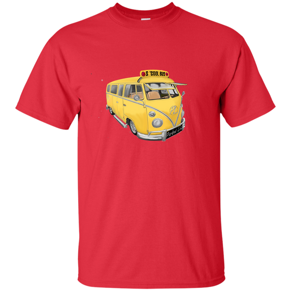 S'Cool Bus - Youth Custom Ultra Cotton Tee
