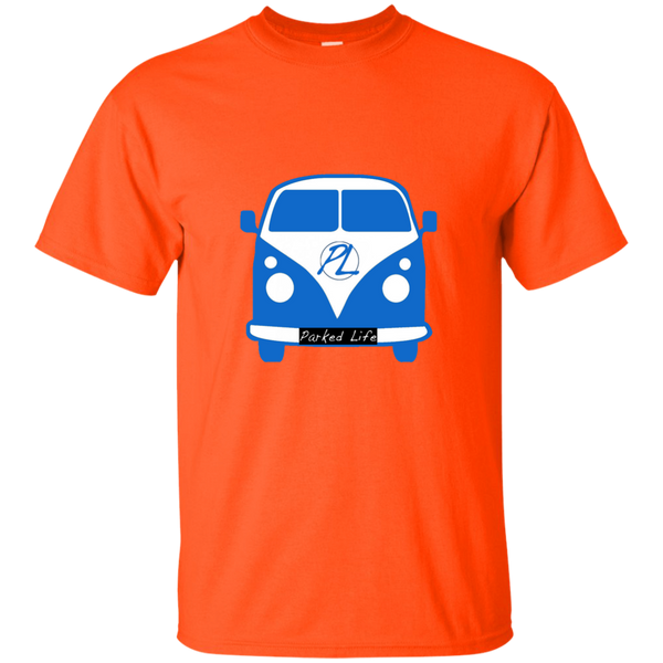 Parked Life Blue - Custom Ultra Cotton T-Shirt