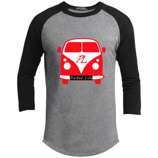Parked Life Red - Sporty Tee Shirt