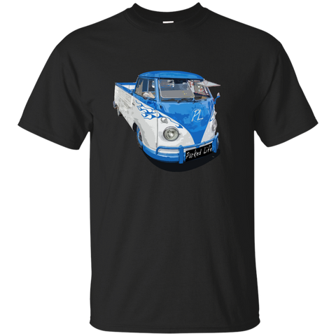 Flaming Pickup - Custom Ultra Cotton T-Shirt