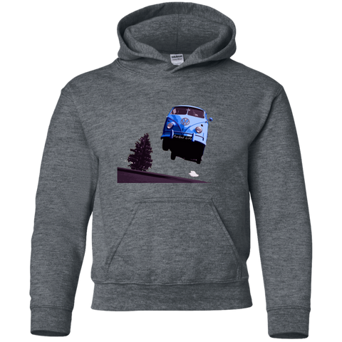 Flying Bus -  Youth Pullover Hoodie