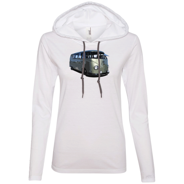 Mean Machine - Ladies LS T-Shirt Hoodie