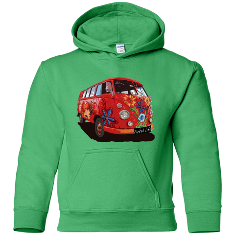 Flower Power - Youth Pullover Hoodie