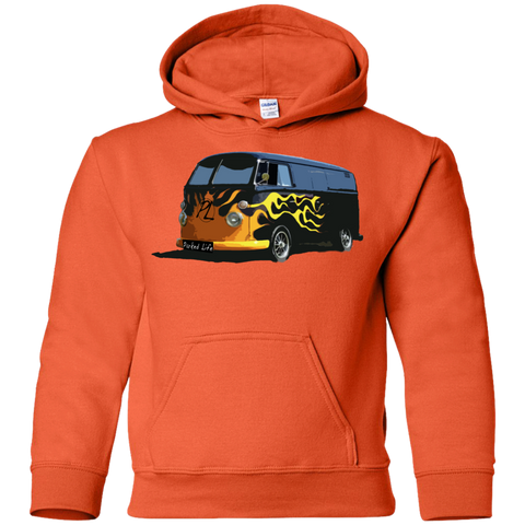 Flaming Hot - Youth Pullover Hoodie