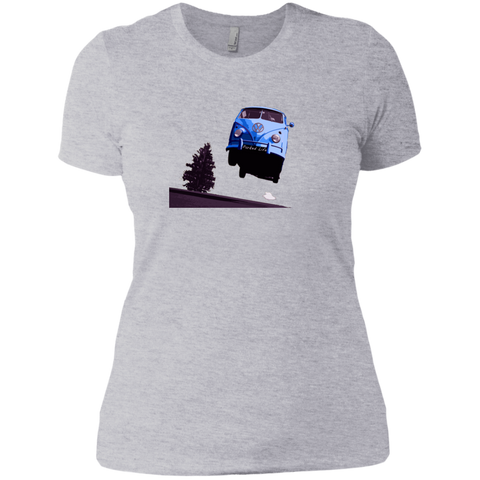 Flying Bus -  Next Level Ladies' Boyfriend Tee