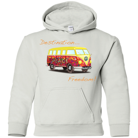 Destination Freedom - Youth Pullover Hoodie