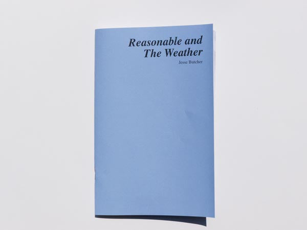 Reasonable and the Weather // Jesse Butcher