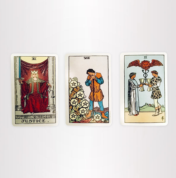 Three Card Spread // E-mail Tarot Reading by Corkey Sinks