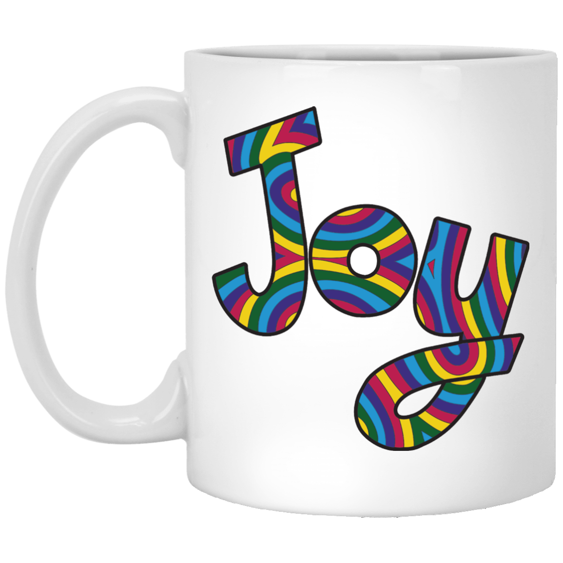 "Joy ""Stacy""  11 oz. White Coffee Mug"