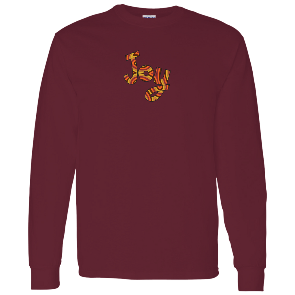 Joy Mens Long Sleeve T-Shirt 5.3 oz.