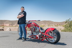 "Genie Featured on ""American Chopper"" with Custom Genie Chopper Built by Paul Teutul, Jr. Designs"