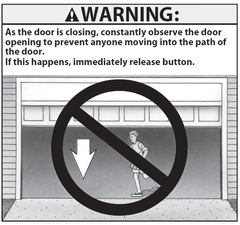 Safe-T-Beam Warning