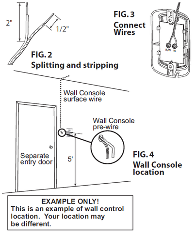 Genie Series III Wall console replacement instructions