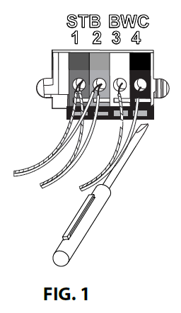 39272S.S Optical Encoder replacement instructions, removing the wiring