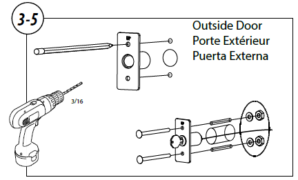GER-R Garage Door Emergency Release Kit Keyed Lock Installation Instructions