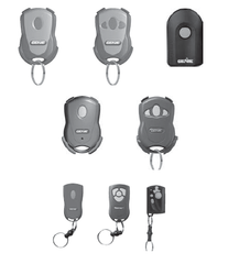 Older style Genie garage door opener remotes