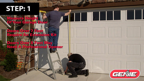 How To Measure A Garage Door For An Opener The Genie Company